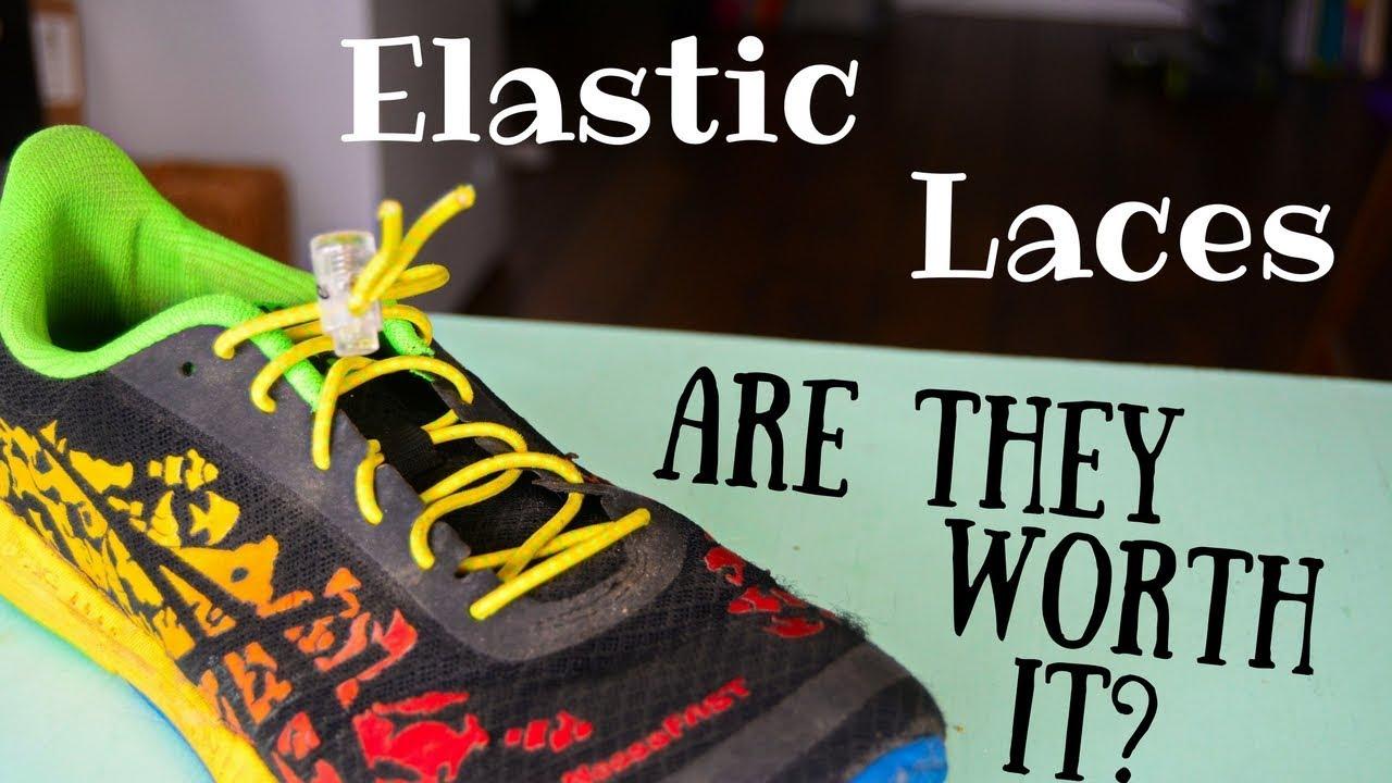 INFINITY Elastic Laces No tie laces Triathlon Laces 9 Different Colours.
