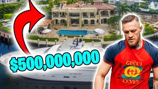 CONOR MCGREGOR EXPOSED: 10 Ridiculous Things HE SPENT MILLIONS ON!