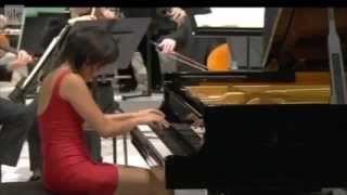 Yuja Wang plays Tchaikovsky : Piano Concerto No .1 B-flat minor, Opus 23