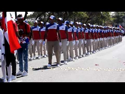 Fiesta del día de la Independencia de Republica Dominicana en Puerto Plata. Año 2018 Desfile