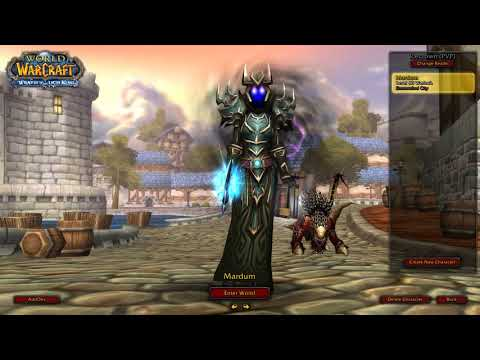 WoW 3.3.5 Affliction Warlock PvP