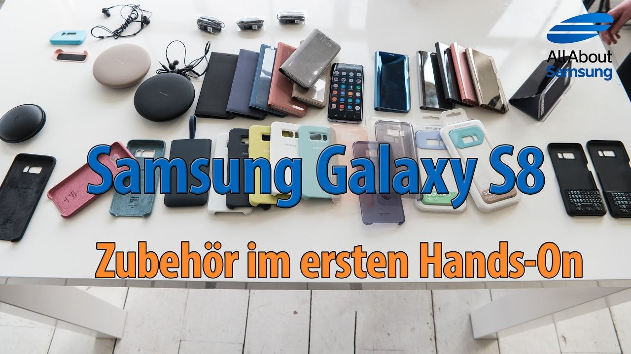 samsung galaxy s8 zubeh r und akg kopfh rer im hands on. Black Bedroom Furniture Sets. Home Design Ideas