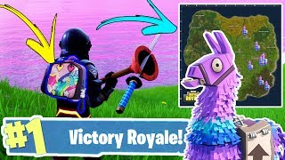 "*NEW METHOD* TO UNLOCK RARE ""Brite Bag"" + SECRET SUPPLY LLAMA ""LOCATIONS"" (Fortnite Battle Royale)"