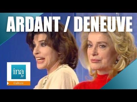 "Catherine Deneuve et Fanny Ardant ""8 femmes"" | Archive INA"
