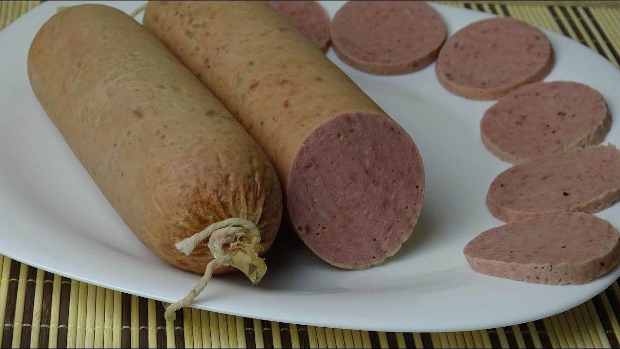 домашняя молотая колбаса рецепт с фото