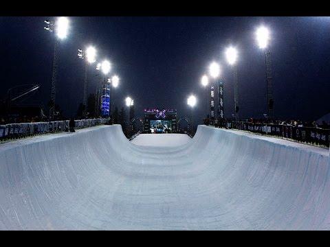 winter x games superpipe compilation men youtube