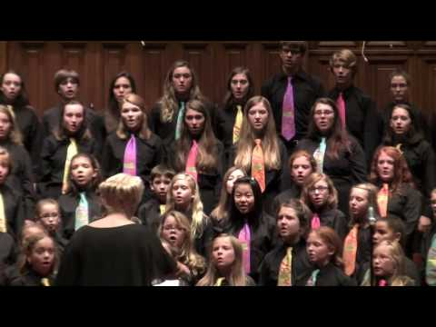Kentucky Youth Chorale sings