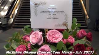 Flowers from Cecilia to Mitchy's concert in Tokyo International For...