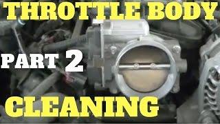 Part 2 Cleaning LS Throttle Body | Vortec 4.8 5.3 6.0 6.2 Liter