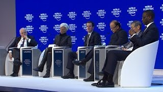 Davos 2016 - The Global Economic Outlook