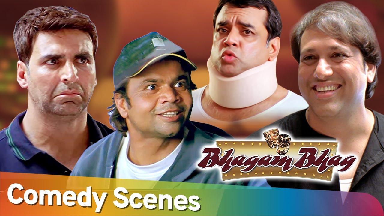 Download Best Comedy Scenes | Movie  Bhagam Bhag |  Rajpal Yadav - Akshay Kumar - Govinda - Paresh Rawal