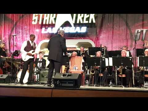 Tim Russ Singing  Star Trek Las Vegas 2017