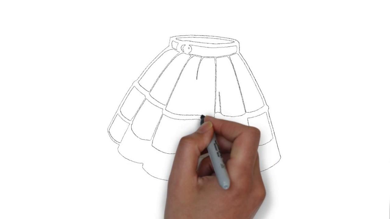 Falda Dibujo