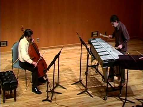 Vassil Kazandjiev - Song of the Dolphin for Cello and Vibraphone