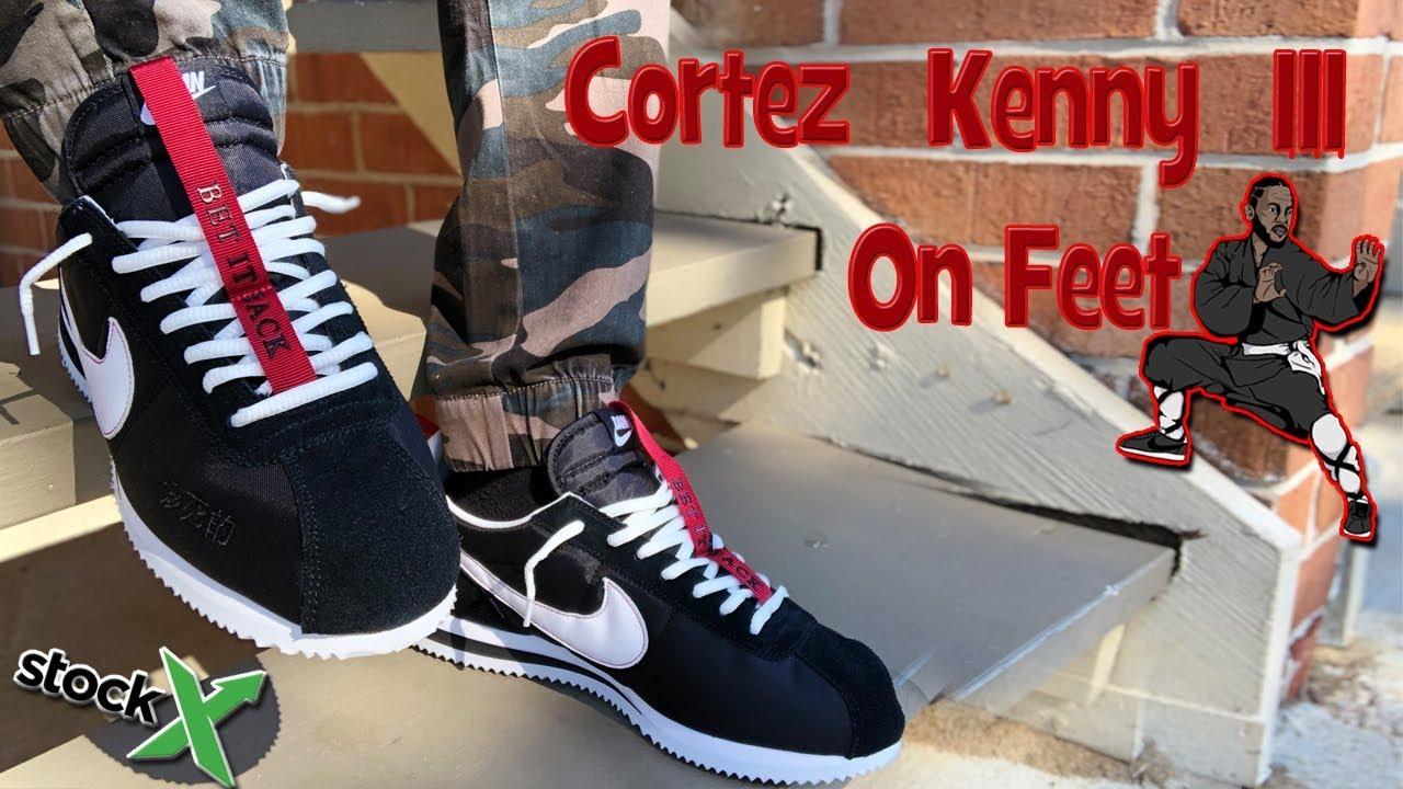 new styles 0f9f7 bfe9f Nike Cortez Kenny III On Feet