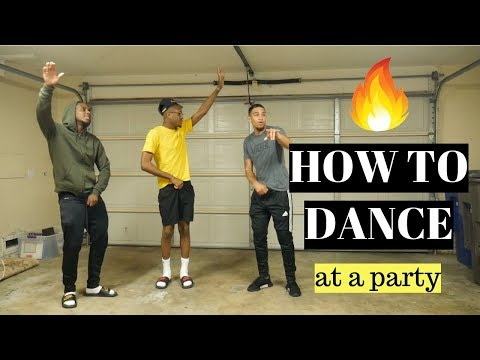 HOW TO DANCE (at a party/function)💃🏾🕺🏾