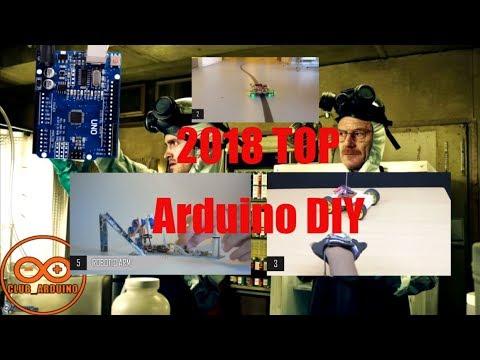 Подборка новых проектов на ардуино топ 10 Arduino Projects 2018