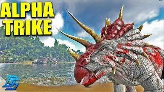 FIRST ALPHA TAME, ALPHA TRIKE! - Ark Survival Evolved - Extinction Core - Pt.6 (Ark Modded)
