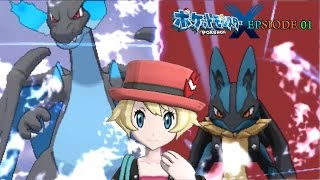 Pokemon X | Epsiode 01 | 前回提要 with Opening Mad