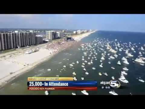 Kenny Chesney Brings Thousands to Flora Bama