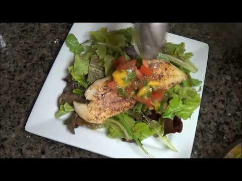 Mango Salsa On Fish Recipe