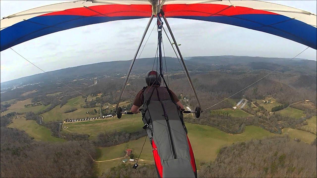 Hang Gliding Crash Lookout Mountain, March 15, 2014