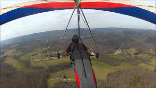 Hang Gliding Crash Lookout Mountain, March 15, 2014