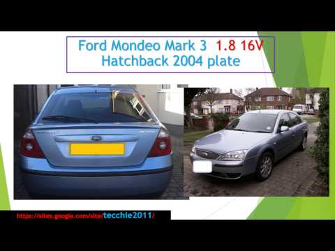 How to open the boot of a Ford if your solenoid dies