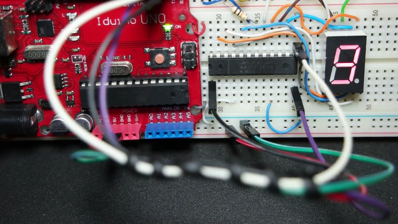 Arduino 7 Segment Led Display Max7219 By Picmicrolab Bcd To Decoder Circuit Diagram And 2016 Car