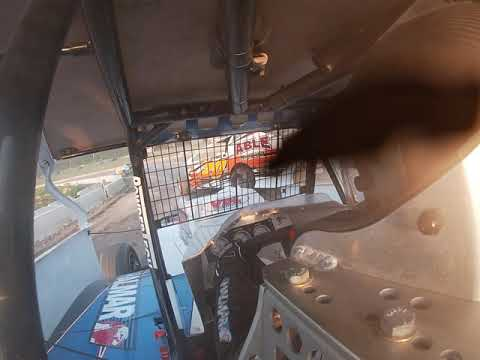 Orange County Fair Speedway practice. First time on new surface 7/10/19