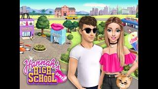 Hannah's High School Crush💑 - First Date Makeover ( PART -1 ) |👠👗👜 |💄 💋 | 💆♀️✂👱♀️ | 💅 | TutoTOONS. screenshot 2