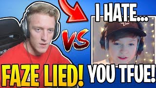 Tfue *EXPOSES* FaZe HighSky For LYING About His Age! (BANNED)