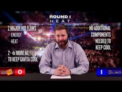 Gavita vs LED Ten Round Grow Battle | LED vs HID | HPS vs