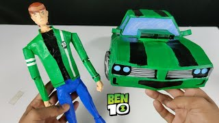 How to Make Ben Tennyson action figure from Ben 10 Alien force
