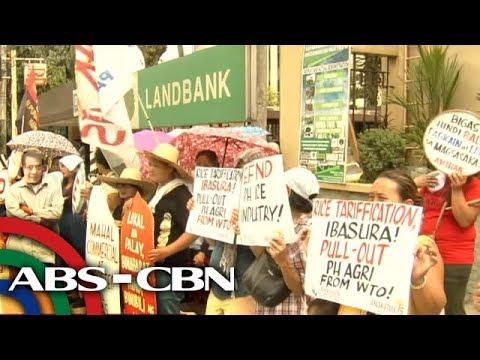 TV Patrol: Kawalan ng pangmatagalang solusyon sa problema sa bigas, iprinotesta thumbnail