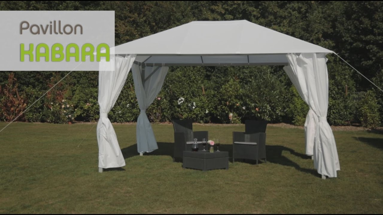 Fabulous tepro Pavillon Kabara - YouTube XN62
