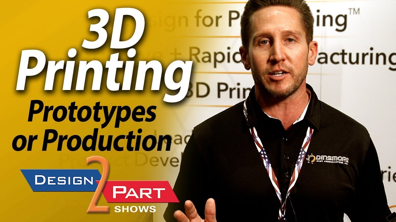 3D printing in any material - Prototype or high quantity - Dinsmore