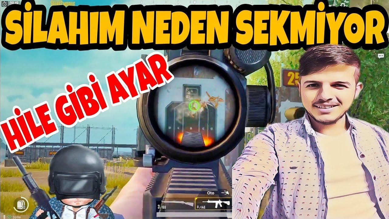 SİLAH NASIL SEKMEZ-HASSASİYET AYARI-PUBG Mobile Türkçe
