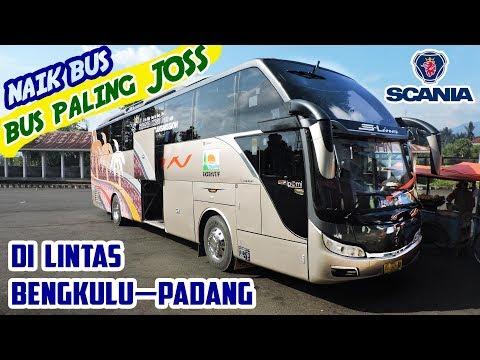 Etape III: NAIK BUS PALING JOSS di JALUR EKSTRIM Bengkulu—Padang | SAN S-Liner SCANIA K360 Optic