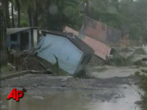 Raw Video: Storm Pounds El Salvador, Kills 100+