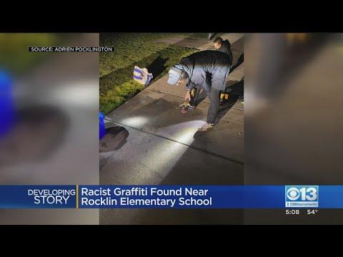 Racist Graffiti Found Near Rocklin Elementary School