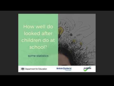 Boosting achievement of children in care (Part 1 Professionals)