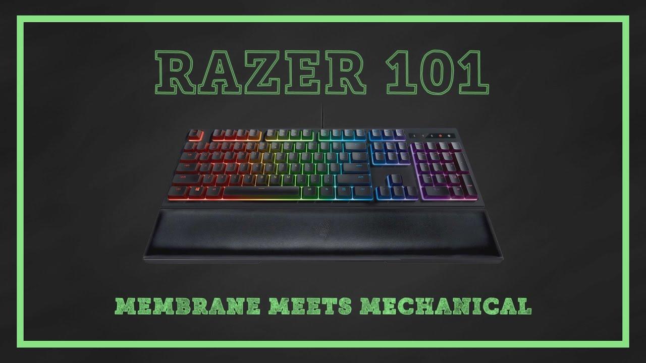 Razer 101   Ornata Chroma - Membrane Meets Mechanical