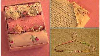 3 Scrap Fabric Projects: (diy Ring Holder, Bookmark Corner, Fabric Hanger)