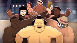 【4人実況】笑わずにはいられない神ゲー『 Circle of Sumo 』