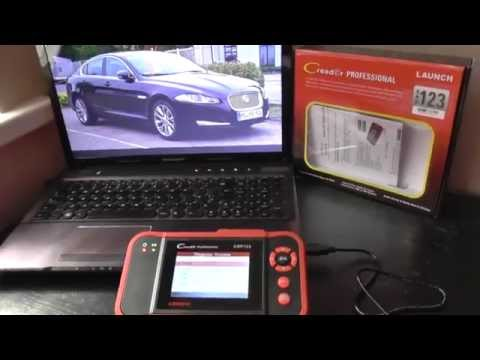 Jaguar XF Type Diagnostic Tool For Engine, ABS, Airbag & Transmission Reset