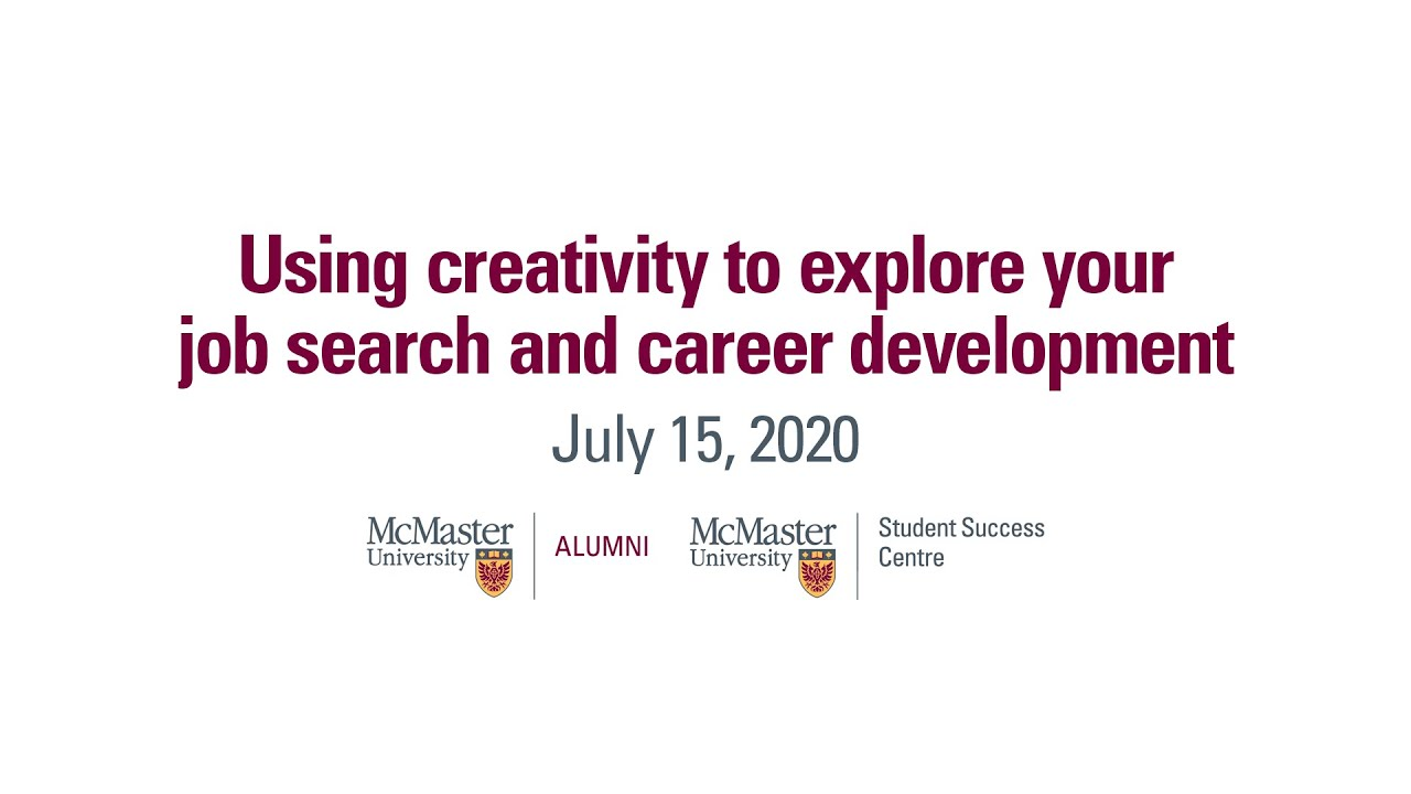 Image for Using creativity to explore your job search and career development with Irena Radisevic webinar
