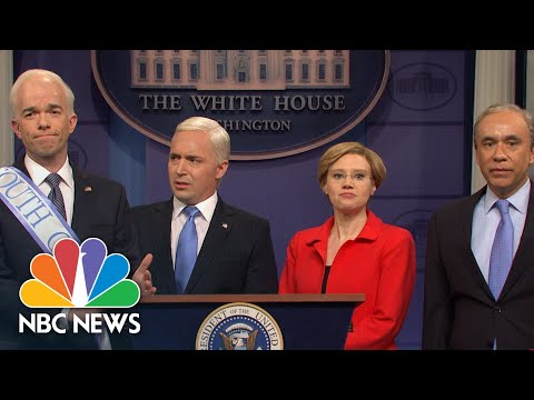 'Saturday Night Live' Targets Coronavirus And Democratic Presidential Candidates | NBC News