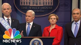 'Saturday Night Live' Targets Coronavirus And Democratic Presidential Candidates | NBC News