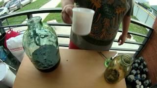 Как приготовить вино из варенья? Часть 1-ставим на брожение